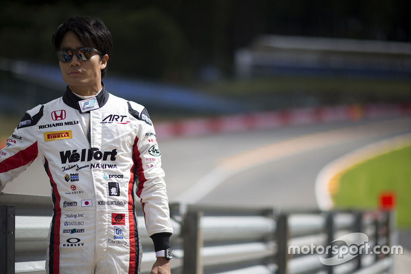 Nobuharu Matsushita (kanshebber vanwege motorendeal met Honda)