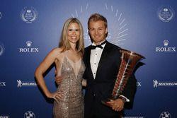 Nico Rosberg, Formel-1-Weltmeister, mit Ehefrau Vivian