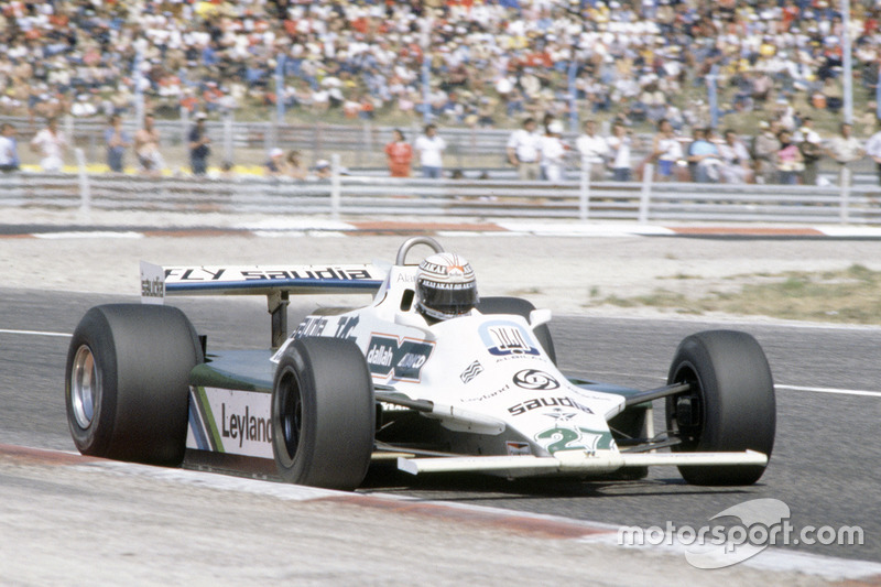 Alan Jones - 11 victorias con Williams