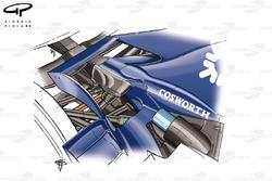 Williams FW28 2006, dettaglio posteriore