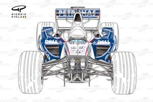 BMW F1.07 2007 chassis with no nose