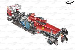 DUPLICATE: Ferrari F2012 3/4 stripped down view