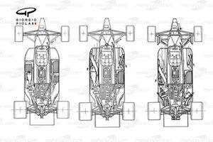 Развитие компоновки Brabham BT55