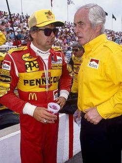 Rick Mears und Roger Penske