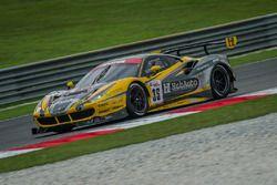 #35 HubAuto Racing, Ferrari 488 GT3: Morris Chen, Hiroki Yoshimoto, Shinya Hosokawa, Hiroki Yoshida