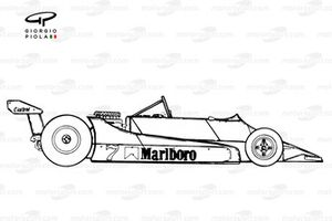 McLaren M29 1979, vista laterale