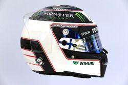 The helmet of Valtteri Bottas, Mercedes AMG F1 W08