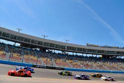 Justin Allgaier, JR Motorsports, Chevrolet; Matt Tifft, Joe Gibbs Racing, Toyota