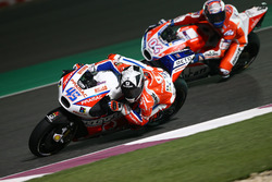 Scott Redding, Pramac Racing; Andrea Dovizioso, Ducati Team