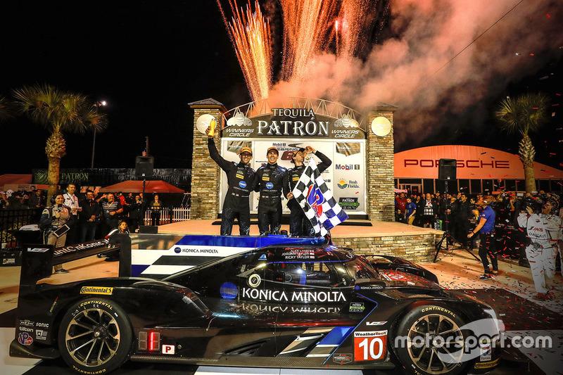 1. Ricky Taylor, Jordan Taylor, Alex Lynn, Wayne Taylor Racing