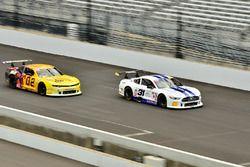 #02 TA2 Chevrolet Camaro, John Atwell, Atwell Racing, #31 TA2 Ford Mustang, Elias Anderson, ARX Motorsports