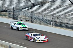 #10 TA4 Ford Mustang, JR Pesek, PF/Rennsport KC Racing, #59 TA Chevrolet Corvette driven Simon Gregg, Derhaag Motorsports