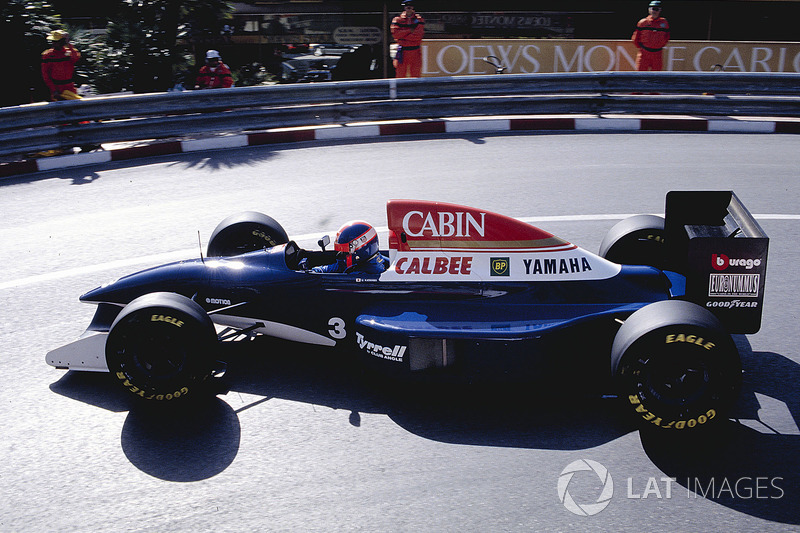 "6. <img src=""https://cdn-0.motorsport.com/static/img/cfp/0/0/0/100/110/s3/japan-2.jpg"" alt="""" width=""20"" height=""12"" /> Ukiyo Katayama. 95 races (1992-1997). Best result - fifth (Brazil 1994, Imola 1994)"
