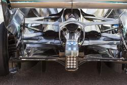 Mercedes-Benz F1 W08 Hybrid rear detail