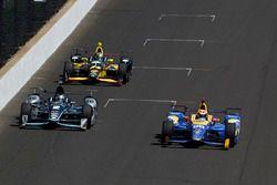 Alexander Rossi, Herta - Andretti Autosport Honda, Josef Newgarden, Team Penske Chevrolet
