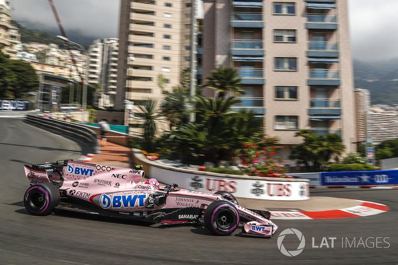 15: Эстебан Окон, Sahara Force India F1 VJM10