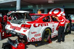 Car of Kyle Larson, Chip Ganassi Racing Chevrolet