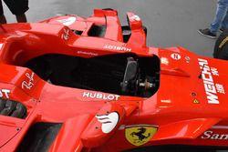 Ferrari SF70H cockpit detail
