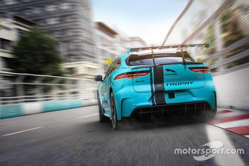 El nuevo Jaguar I-PACE eTROPHY