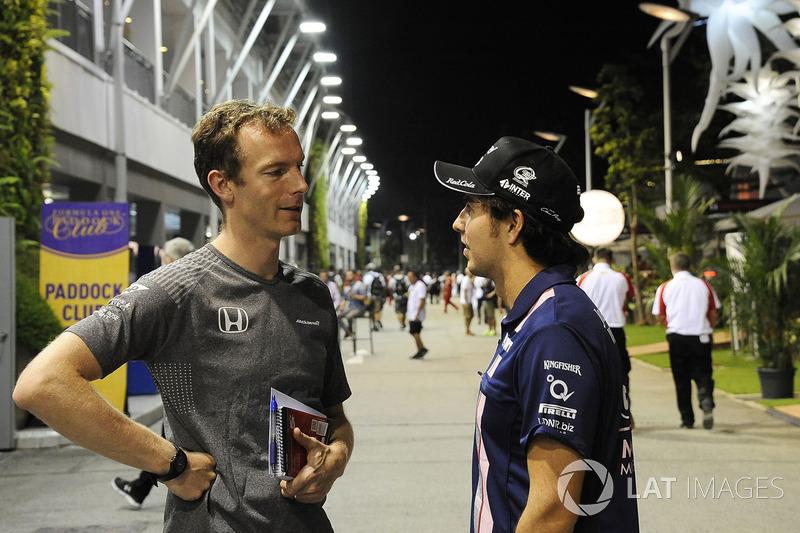 Mark Temple, McLaren Yarış Mühendisi, Sergio Perez, Sahara Force India