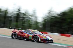 №51 AF Corse Ferrari 488 GTE: Джеймс Каладо, Алессандро Пьергвиди