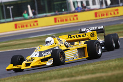 Renault Sport F1 Team F1 Historic, René Arnoux and Franck Montagny