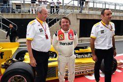 Jerome Stoll, René Arnoux, Cyril Abiteboul, Renault RS01