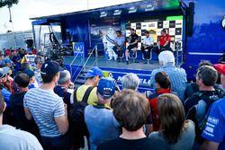 Michel Nandan, Team principal Hyundai Motorsport, Malcolm Wilson, Team principal M-Sport, Yves Matto