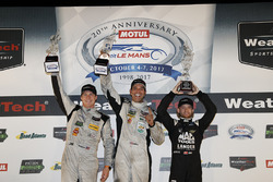 Ganadores PC: Garett Grist, Tomy Drissi, John Falb, BAR1 Motorsports