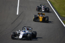 Феліпе Масса, Williams FW40, Ніко Хюлькенберг, Renault Sport F1 Team RS17, Кевін Магнуссен, Haas F1