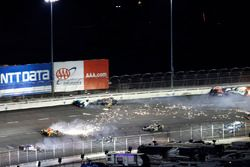 Ryan Hunter-Reay, Andretti Autosport Honda crash