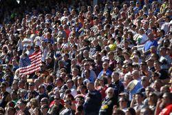 NASCAR-Fans auf der Tribüne