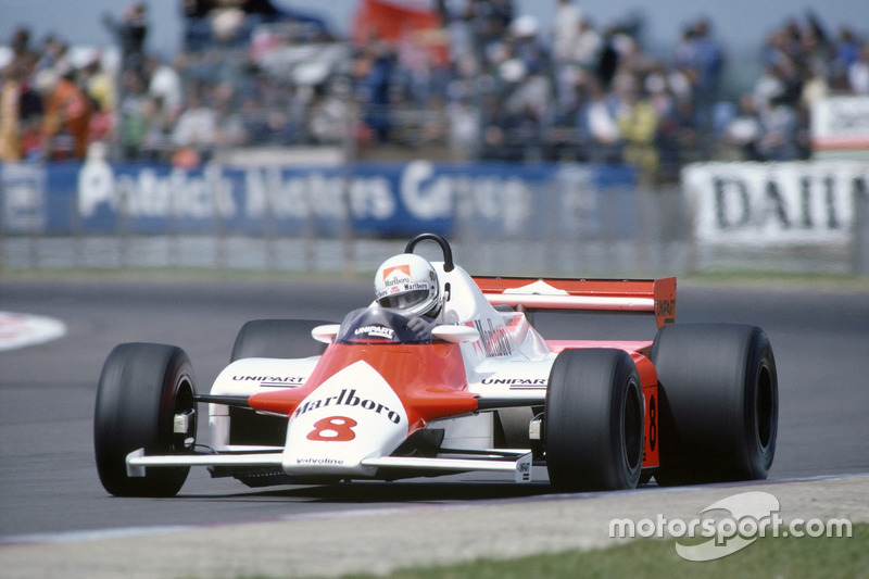 Андреа де Чезаріс, McLaren MP4/1-Ford Cosworth