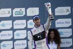 Podium: second place Sam Bird, DS Virgin Racing