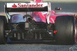 Ferrari SF70H diffuser