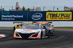 #43 RealTime Racing, Acura NSX GT3: Ryan Eversley