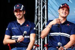 Antonio Giovinazzi, Sauber met Marcus Ericsson, Sauber