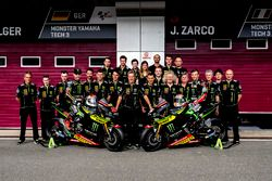 Teamfoto; Jonas Folger, Monster Yamaha Tech 3; Johann Zarco, Monster Yamaha Tech 3