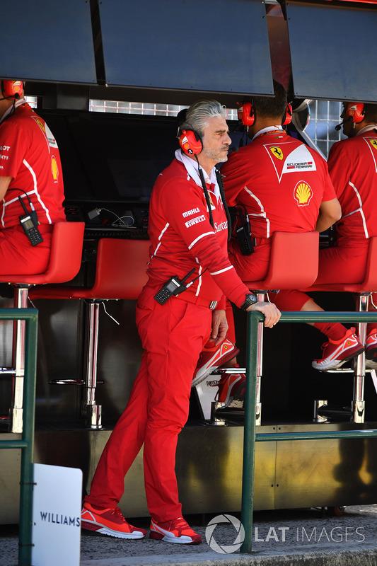 Maurizio Arrivabene, director de Ferrari Team Principal