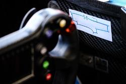 Схема трассы в автомобиле Жерома д'Амброзио, Dragon Racing