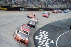 Chase Elliott, Hendrick Motorsports Chevrolet, Ryan Blaney, Wood Brothers Racing Ford, Martin Truex Jr., Furniture Row Racing Toyota