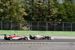 Jehan Daruvala, Carlin, Dallara F317 - Volkswagen, Callum Ilott, Prema Powerteam, Dallara F317 - Mer
