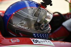 Marco Andretti, Andretti Autosport, Honda, Helm