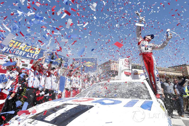 5. Rennsieger: Kevin Harvick, Stewart-Haas Racing Ford