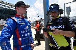 Matt Tifft, Joe Gibbs Racing Toyota y Matt Beckman
