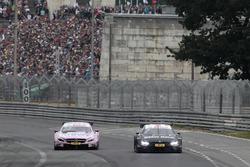 Lucas Auer, Mercedes-AMG Team HWA, Mercedes-AMG C63 DTM, Bruno Spengler, BMW Team RBM, BMW M4 DTM