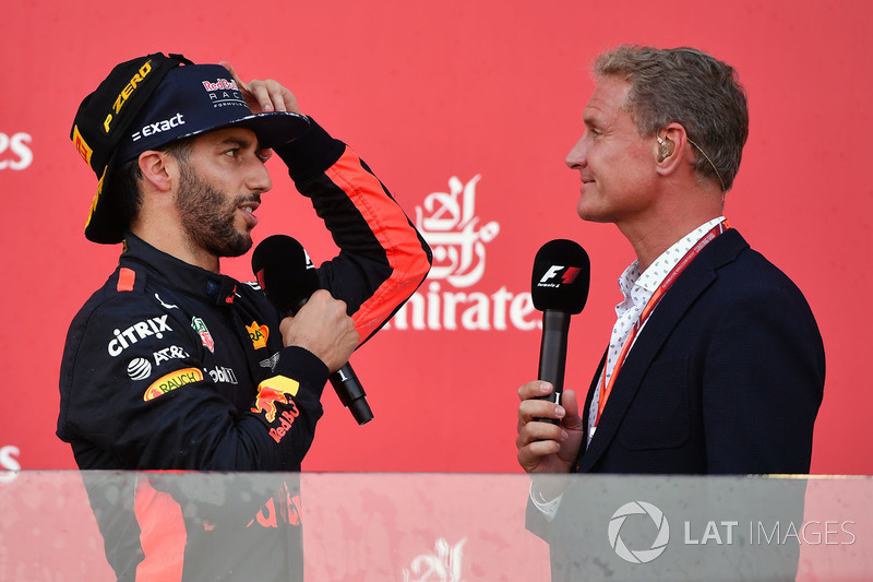 David Coulthard y Daniel Ricciardo, Red Bull Racing
