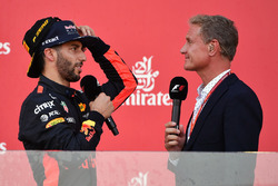 David Coulthard, Channel Four TV Commentator, Daniel Ricciardo, Red Bull Racing