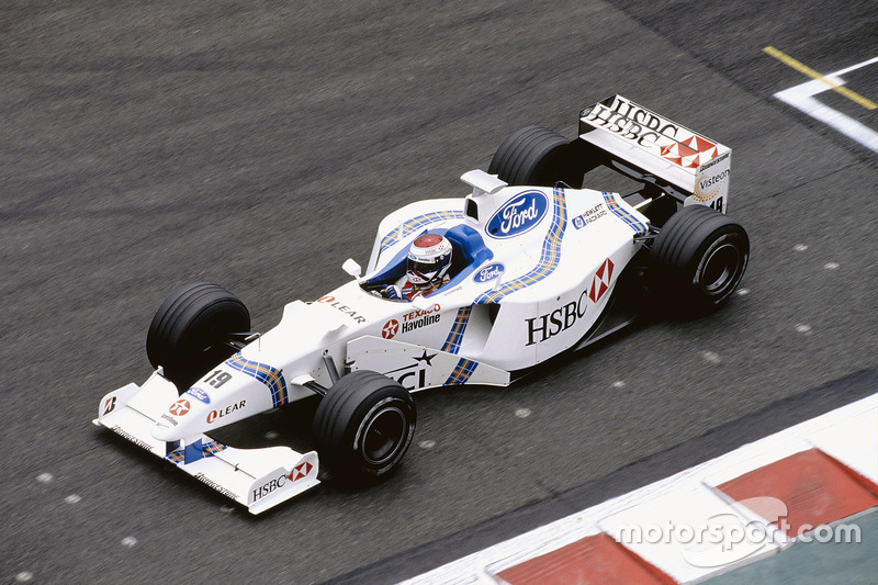 Jos Verstappen, Stewart SF2 Ford