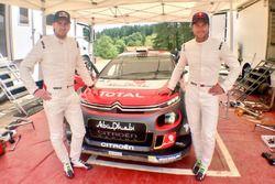 Andreas Mikkelsen, Andres Jaeger, Citroen Racing
